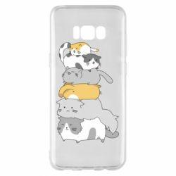 Чохол для Samsung S8+ Cats