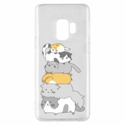 Чохол для Samsung S9 Cats
