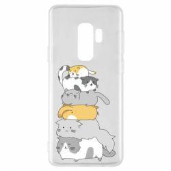 Чохол для Samsung S9+ Cats