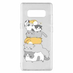 Чохол для Samsung Note 8 Cats