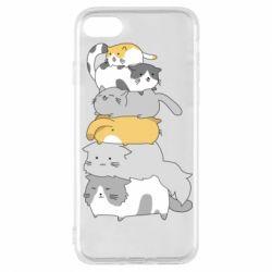 Чохол для iPhone 8 Cats