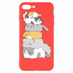 Чохол для iPhone 8 Plus Cats