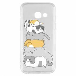 Чохол для Samsung A3 2017 Cats