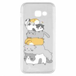 Чохол для Samsung A5 2017 Cats