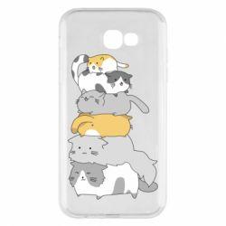 Чохол для Samsung A7 2017 Cats