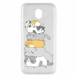 Чохол для Samsung J5 2017 Cats