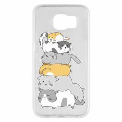 Чохол для Samsung S6 Cats