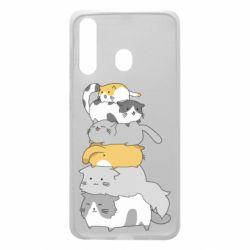 Чохол для Samsung A60 Cats