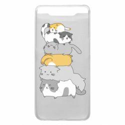 Чохол для Samsung A80 Cats