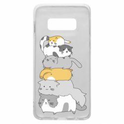 Чохол для Samsung S10e Cats