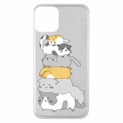 Чохол для iPhone 11 Cats