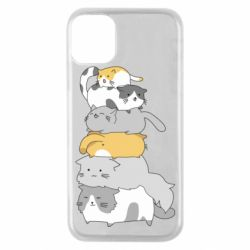 Чохол для iPhone 11 Pro Cats
