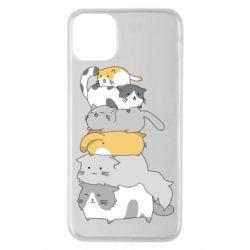 Чохол для iPhone 11 Pro Max Cats