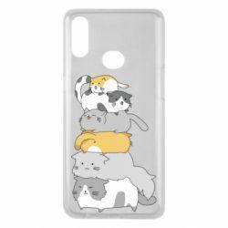 Чохол для Samsung A10s Cats