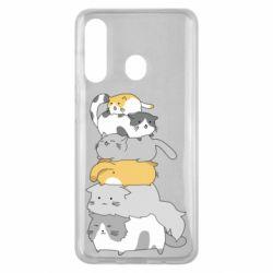 Чохол для Samsung M40 Cats
