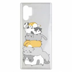 Чохол для Samsung Note 10 Plus Cats