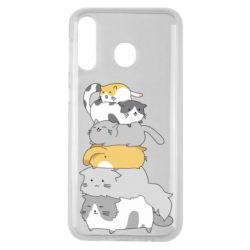 Чохол для Samsung M30 Cats