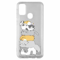 Чохол для Samsung M30s Cats