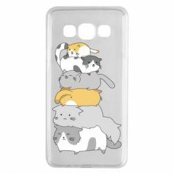 Чохол для Samsung A3 2015 Cats