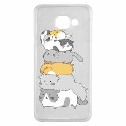 Чохол для Samsung A3 2016 Cats