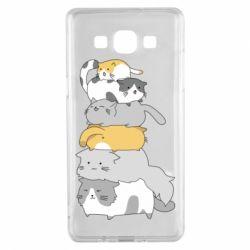 Чохол для Samsung A5 2015 Cats