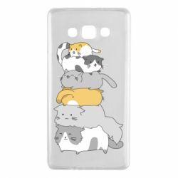 Чохол для Samsung A7 2015 Cats
