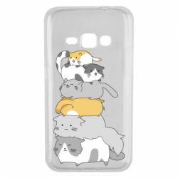 Чохол для Samsung J1 2016 Cats