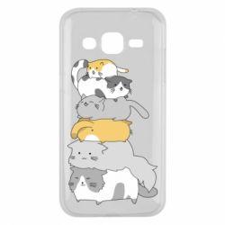 Чохол для Samsung J2 2015 Cats