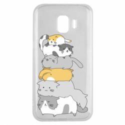 Чохол для Samsung J2 2018 Cats