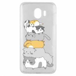 Чохол для Samsung J4 Cats