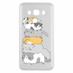 Чохол для Samsung J5 2016 Cats