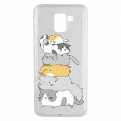 Чохол для Samsung J6 Cats