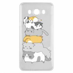 Чохол для Samsung J7 2016 Cats