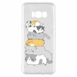 Чохол для Samsung S8 Cats