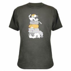 Камуфляжна футболка Cats