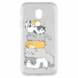 Чохол для Samsung J3 2017 Cats
