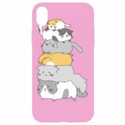 Чохол для iPhone XR Cats