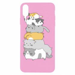 Чохол для iPhone Xs Max Cats
