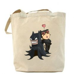 Сумка Catwoman and Angry Batman - FatLine