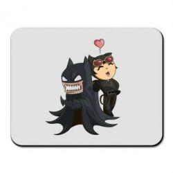 Коврик для мыши Catwoman and Angry Batman - FatLine