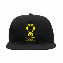Снепбек Caution! Gaming in progress