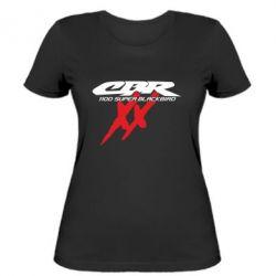 Женская футболка CBR Super Blackbird  1100 XX - FatLine