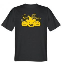 Мужская футболка Cчастливого Хэллоуина - FatLine
