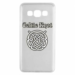 Чохол для Samsung A3 2015 Celtic knot black and white