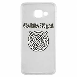 Чохол для Samsung A3 2016 Celtic knot black and white
