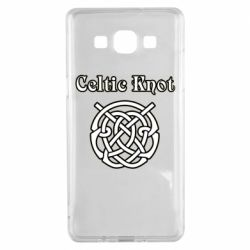 Чохол для Samsung A5 2015 Celtic knot black and white
