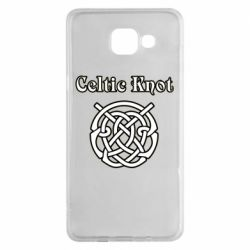 Чохол для Samsung A5 2016 Celtic knot black and white