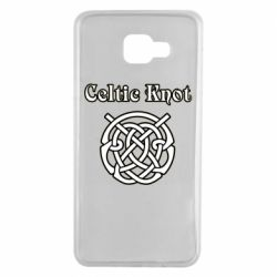 Чохол для Samsung A7 2016 Celtic knot black and white