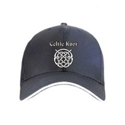 Кепка Celtic knot black and white
