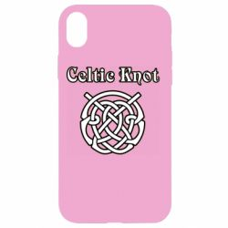 Чохол для iPhone XR Celtic knot black and white
